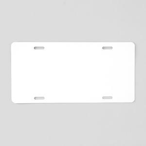 Family Christmas Humor Aluminum License Plate