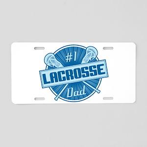 # Lacrosse Dad Aluminum License Plate