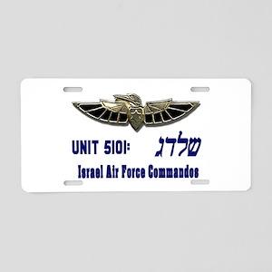 Shaldag: IAF Commandos Aluminum License Plate