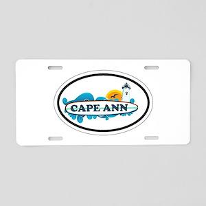 Cape Ann - Oval Design. Aluminum License Plate