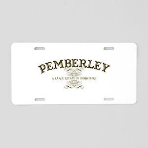 Jane Austen Gift Aluminum License Plate