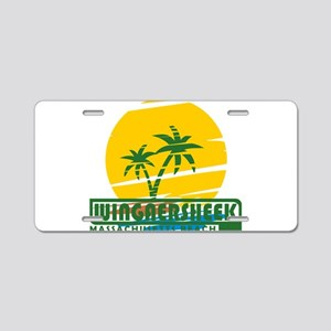 Summer Wingaersheek- massac Aluminum License Plate