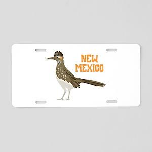 NEW MEXICO Roadrunner Aluminum License Plate