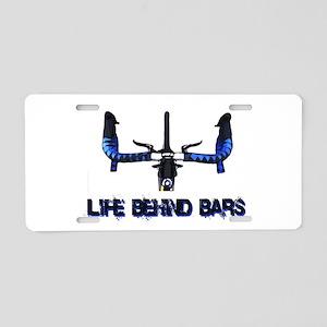 Life Behind Bars Aluminum License Plate