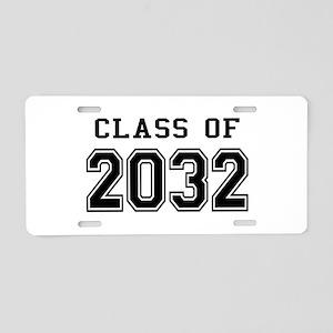 Class of 2032 Aluminum License Plate