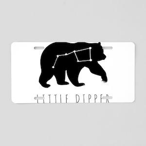Little Dipper Aluminum License Plate