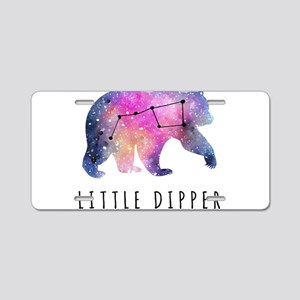 Little Dipper with Galaxy Aluminum License Plate