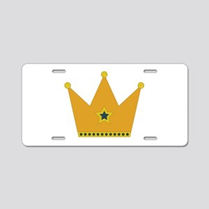 King Crown Aluminum License Plate