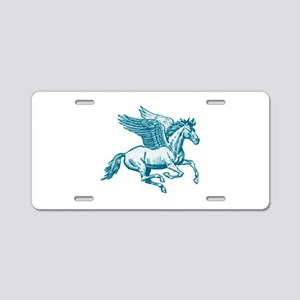 PEGASUS Aluminum License Plate