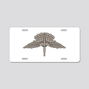 HALO - Grey Aluminum License Plate