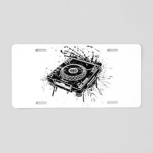 CDJ-1000 Graffiti Aluminum License Plate
