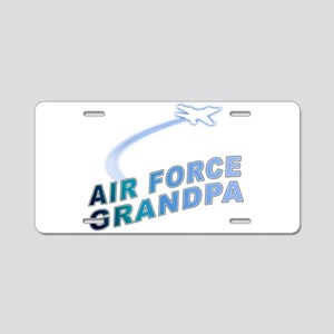 AIR FORCE GRANDPA Aluminum License Plate