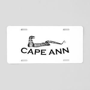 Cape Ann - Sea Serpent Design. Aluminum License Pl