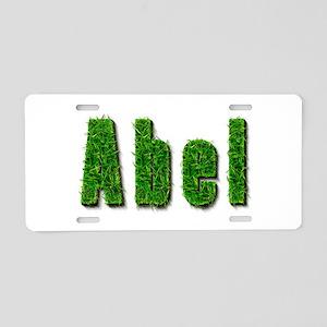 Abel Grass Aluminum License Plate