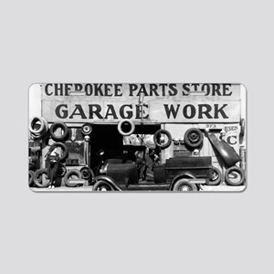 Cherokee Parts Store Depres Aluminum License Plate