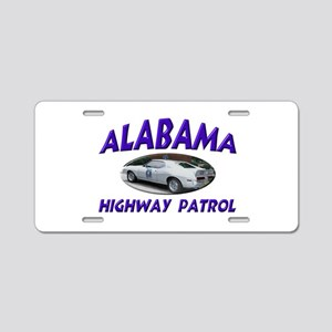 Alabama Highway Patrol Aluminum License Plate