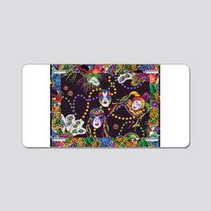 Best Seller Mardi Gras Aluminum License Plate