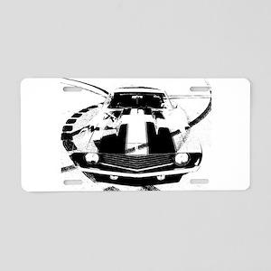 Camaro Style Aluminum License Plate