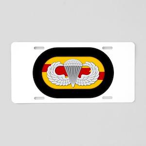 75th Ranger Airborne Aluminum License Plate