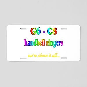 g6-c8 Aluminum License Plate