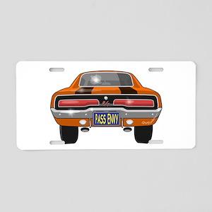 1969 Charger Bumper Aluminum License Plate