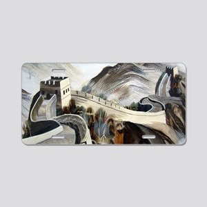 Chinese Great Wall Aluminum License Plate