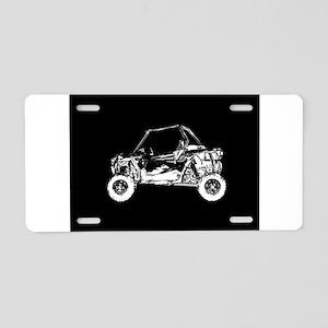 Side X Side Aluminum License Plate