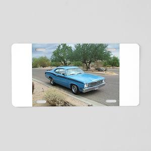 Duster Aluminum License Plate