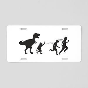 T Rex Evolution Aluminum License Plate