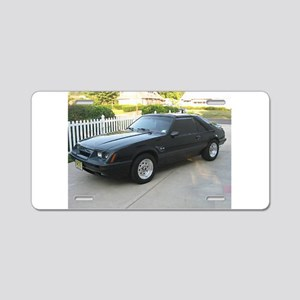 84 Mustang Aluminum License Plate