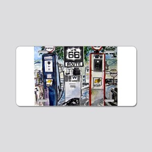 route_66 Aluminum License Plate