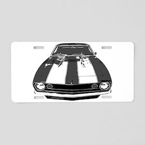 67 Camaro Aluminum License Plate