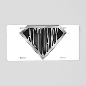 spr_actuary_chrm Aluminum License Plate