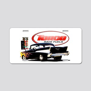 57 Chevy Dragster Aluminum License Plate