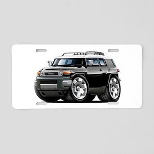 FJ Cruiser Black Car Aluminum License Plate