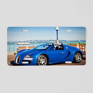 Bugatti5 Aluminum License Plate