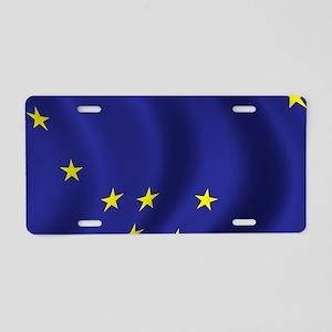 alaska_flag Aluminum License Plate