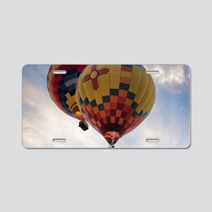 Balloon Poster Aluminum License Plate
