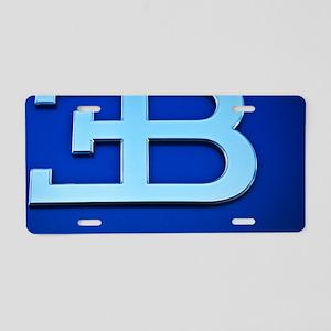 Bugatti3 Aluminum License Plate