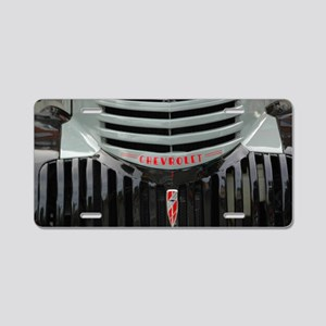 Grilled Cheese Aluminum License Plate