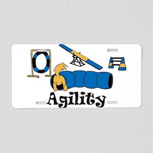 Agility Aluminum License Plate