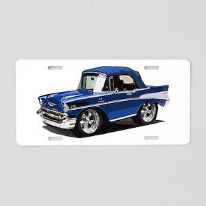 BabyAmericanMuscleCar_57BelR_Blue Aluminum License