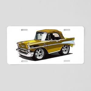 BabyAmericanMuscleCar_57BelR_Gold Aluminum License