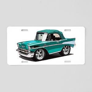 BabyAmericanMuscleCar_57BelR_Green Aluminum Licens