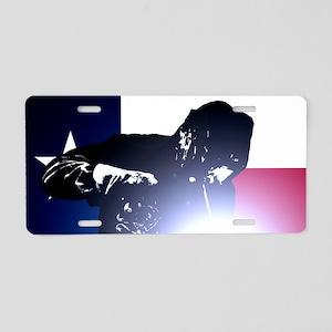 Welding: Texas State Flag & Aluminum License Plate