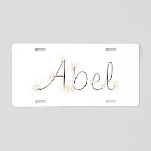 Abel Spark Aluminum License Plate