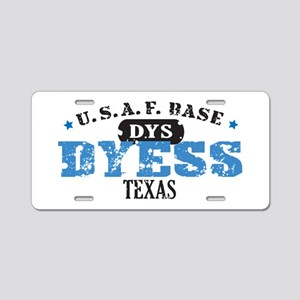 Dyess Air Force Base Aluminum License Plate