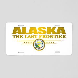 Alaska Pride Aluminum License Plate