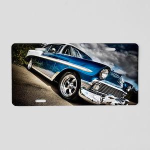 Retro car Aluminum License Plate