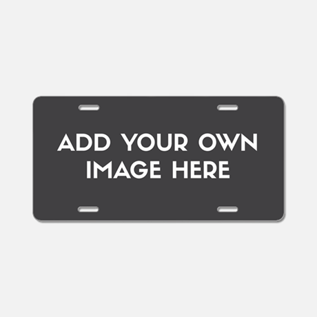 Personalized Image Aluminum License Plate